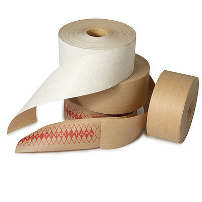 Kraft Reinforced Water Activated Tape 3 X 450 10cs The Boxery