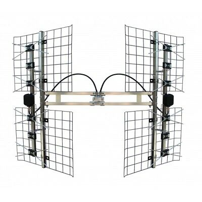 Focus Antennas 8 Bay Multi-directional  VHF/UHF Outdoor TV Antenna