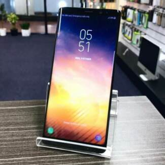 Mint Condition Galaxy Note 8 64GB Black AU MODEL UNLOCKED INVOICE