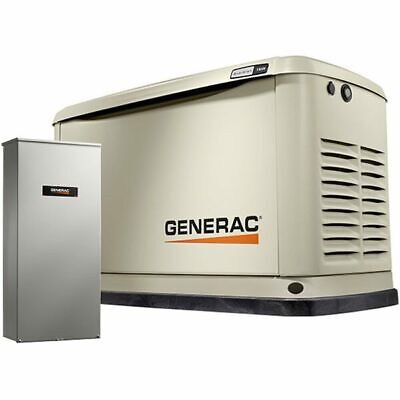 Generac Guardiantrade 11kw Aluminum Standby Generator System 200a Service ...