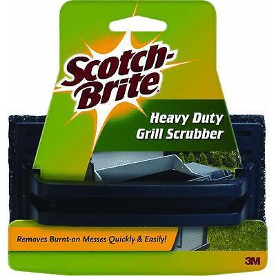 12 Pk 3M Scotchbrite Heavy Duty Coarse Gas Grill Grate Scrubber Cleaner 7721