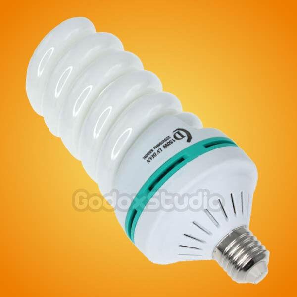 Studio 45W Output 5500K Photo Light Bulb (= 150W Incandescent Lamp) 200~240V