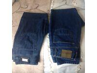 Paul Smith and Hugo Boss men's Jeans