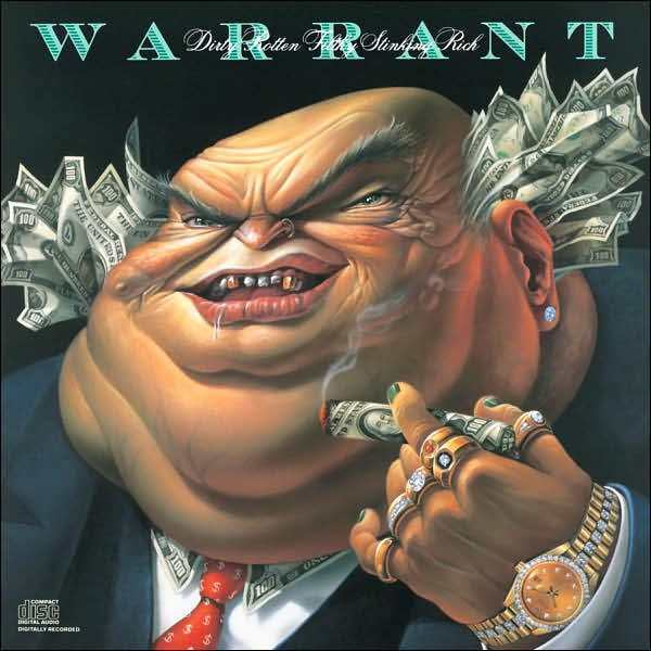 WARRANT : DIRTY ROTTEN FILTHY STINKING RICH (CD) sealed