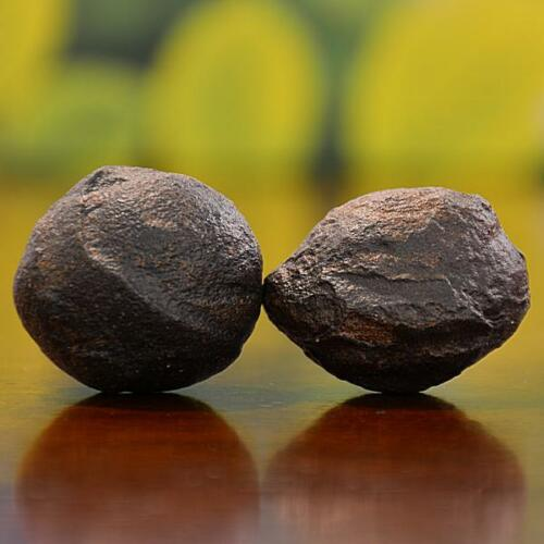 Beautiful Pair of Small Moqui Marbles (Shaman Stones) from Utah 93 grams