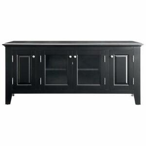 "Insignia NS-HWG1655B-C 60"" TV Stand - Black (Open Box)"