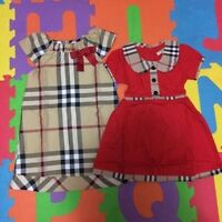 Girls dress & boys long sleeve