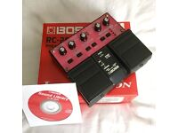 Boss RC20XL Loop Station/Phrase Recorder Guitar Pedal