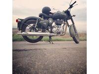 Royal Enfield Classic Battle Green 500cc