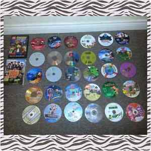 Kids Dvd Movie lot Cars 1&2 Ben10 Scooby-doo + much more!