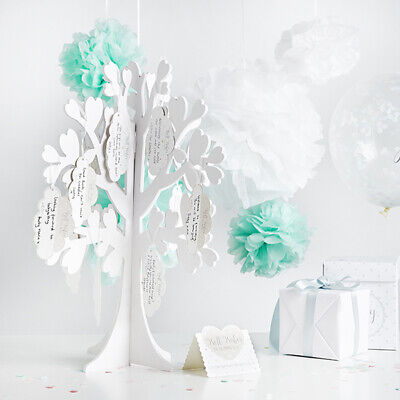 NEW WISHING TREE WITH TAGS BABY SHOWER OR NEWBORN NAMING OR CHRISTENING PARTY (Wishing Tree Baby Shower)