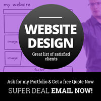 GREAT $299 DEAL!! GET your RESPONSIVE WEBSITE& more in 7 days