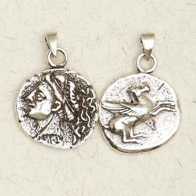 Aphrodite-Olympian Goddess of Love-Pewter/Greek/Silver/Coins/Pendant/Jewelry](Goddess Of Love Greek)