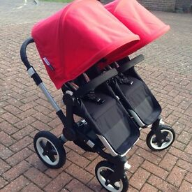Bugaboo Donkey Duo V1.1 in good used condition