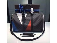 Latest Louis Vuitton 45 colour on monogram black backdrop lv unisex damier genuine designer