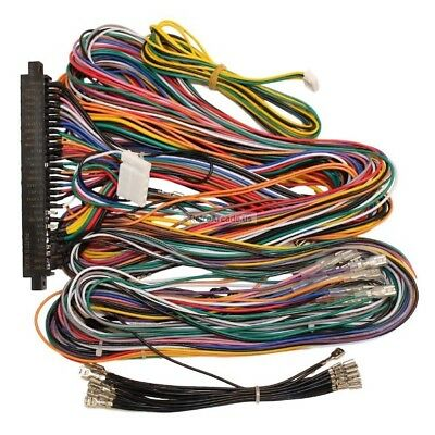 Jamma Plus Board Full Cabinet Wiring Harness Loom for Jamma Multicade PCB boards