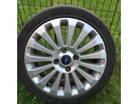 Ford Fiesta titanium 16 inch alloy wheels x 3 and alloy rim