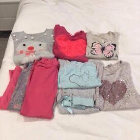 Girls aged 7-8 clothes bundle
