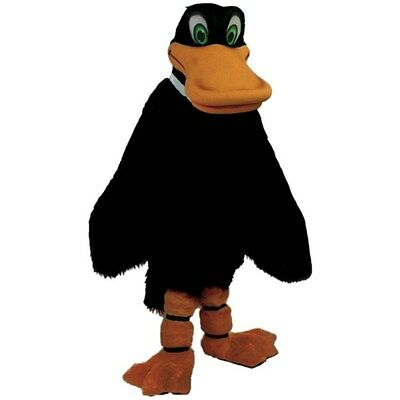 Duck Costume Adults (Black Duck Professional Quality Mascot Costume Adult)