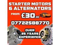 Mercedes Benz Starter Motor From £30