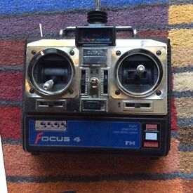 Focus 4 R/C transmitter and receiver