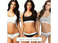 Calvin Klein Underwear Bra & Thong or Brief Sets (SINGLES OR WHOLESALE) LONDON Pick Up Available