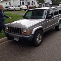 Two jeep Cherokees both running good