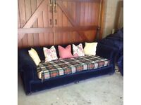 Chesterfield style, Extra large sofa