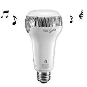 Sengled Pulse Solo 9.5W E26 LED Light with JBL Dual Stereo Bluetooth Speakers - White - BRAND NEW