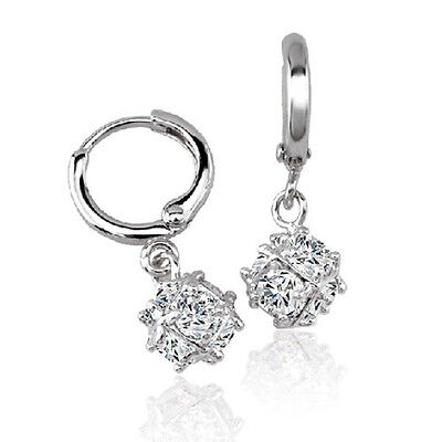 630175a3c Toddler Childrens baby Girls Safety earings crystal hoop earrings Gold  filled