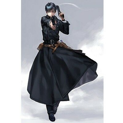 Hot Anime Ao No Exorcist Yukio Okumura Cosplay Costume free Free Shipping