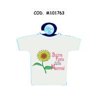Mini T-shirt Maglia Ventosa Auto Scritta Simpatica Mamma Auguri Festa Compleanno -  - ebay.it
