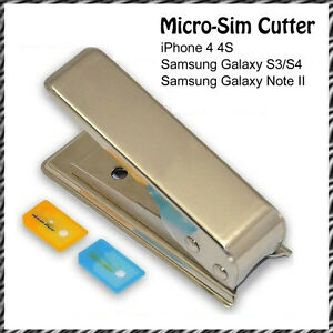 micro sim card cutter adapter for iphone 4 4s samsung galaxy s3 s4 note 2 ipad3 ebay. Black Bedroom Furniture Sets. Home Design Ideas
