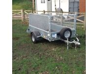 Ifor Williams P6 trailer, virtually unused.