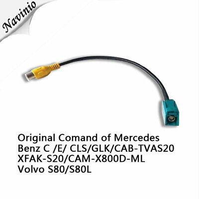 command adapter K für Mercedes Benz R ML W164 viano volvo Rückfahrkamera Camera