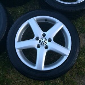 "Vw 17"" Wolfsburg wheels London Ontario image 1"