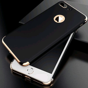 iPhone 7 & 7+ Luxury Thin Frosted Shockproof Armor Case