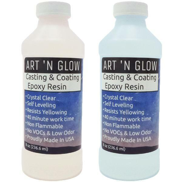 Art 'N Glow Clear Casting And Coating Epoxy Resin - 16 Ounce
