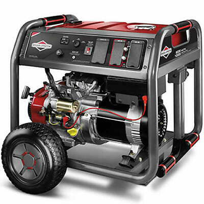 Briggs & Stratton 30664 - 8000 Watt Electric Start Portable Generator w/ (4) ... Briggs & Stratton Electric Generator
