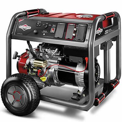 Briggs Stratton 30664 - 8000 Watt Electric Start Portable Generator W 4 ...