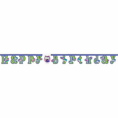 Owl Pal  Birthday Party Supplies  Banner](Owl Birthday Party)