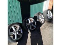 """18""""alloy wheels Audi A6"""