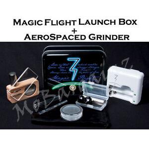 BRAND-NEW-2013-Magic-Flight-Launch-Box-Vaporizer-Kit-Aerospaced-3-pc-Grinder