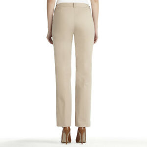 Women's black, taupe, white casual and dress pants, sizes 6-8 London Ontario image 4