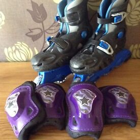 Inline Skates size 2-5 and 6-7