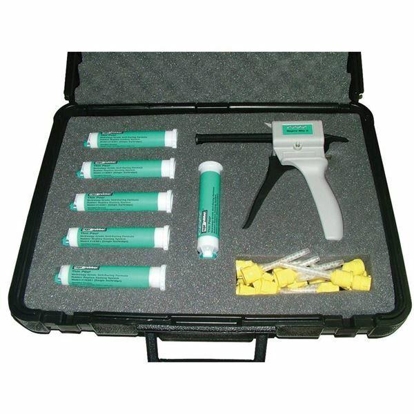 Flexbar 16300 Reprorubber Green Quick Dispense Cartridge System Kit