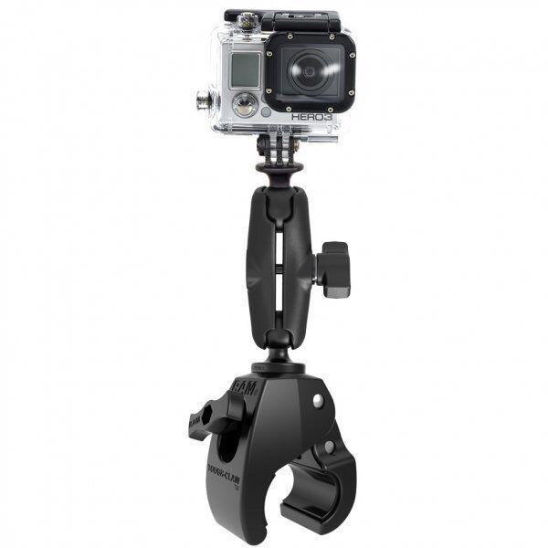 RAM Mount Medium Tough-Claw Mount with Custom GoPro Hero Ada