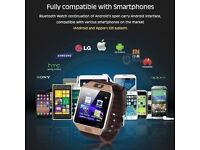 Waterproof Bluetooth DZ09 Smart Stylish Watch SIM Phone For IOS Samsung Android