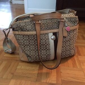 Sac a couche coach diaper bag