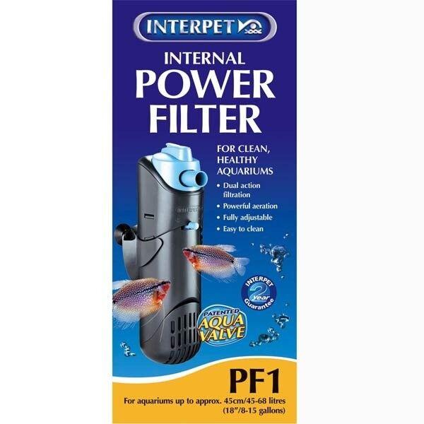 Filter Tank - Interpet Internal Power Filter PF1